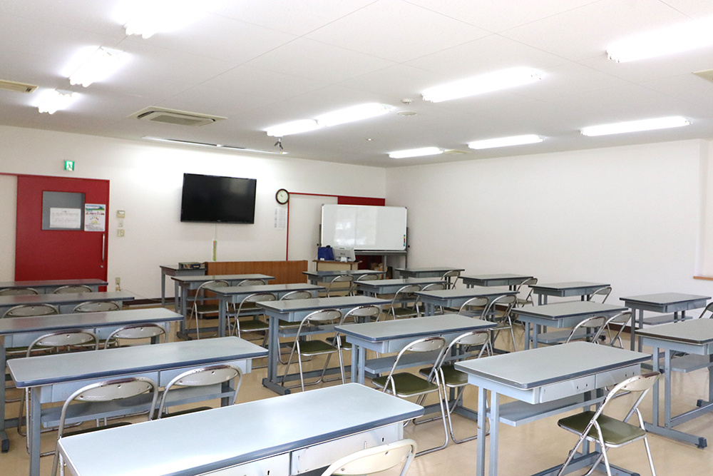 下田自動車学校の教室