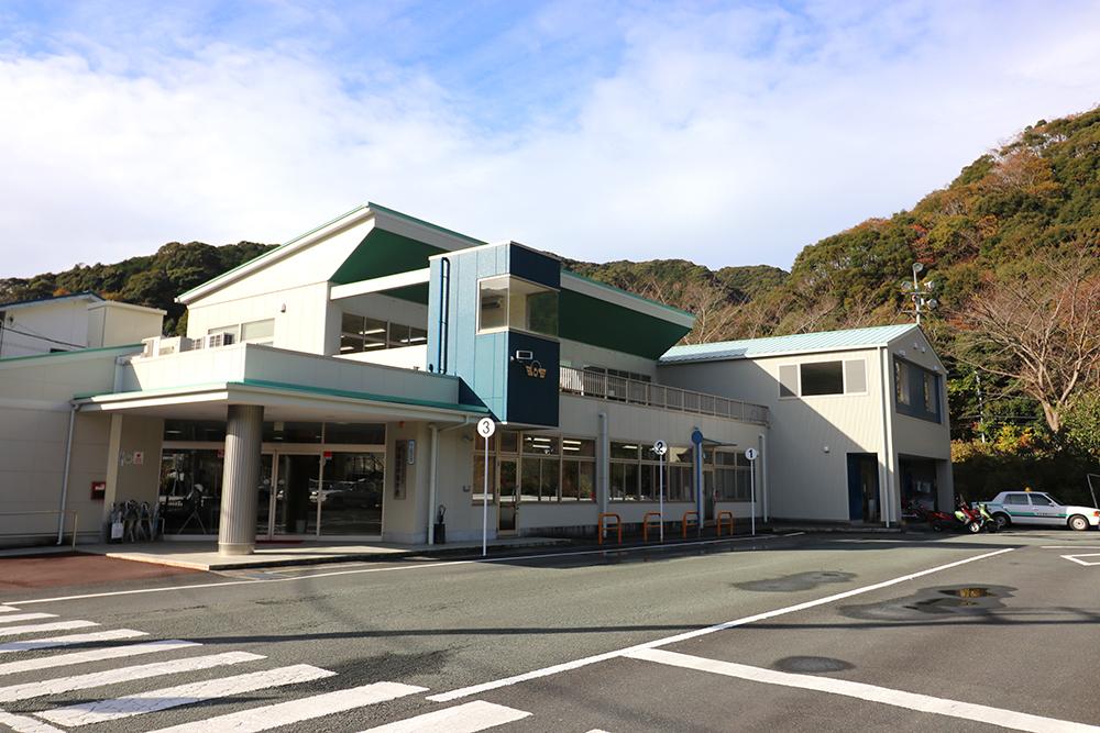 下田自動車学校の学校外観