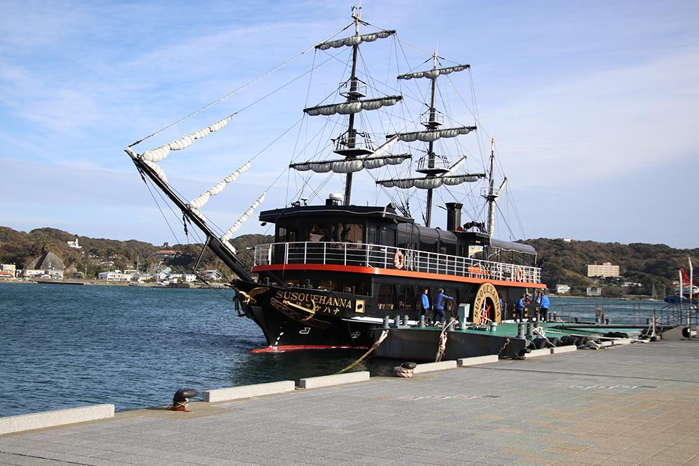 下田の黒船クルーズ